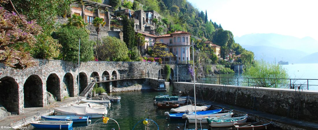 Monte Rio Ca >> Cannero Riviera   Urlaubsort am Lago Maggiore mit einem ...