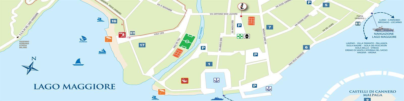 Verbania Lago Maggiore Karte.Neue Lago Maggiore Touristenkarten In Vier Sprachen